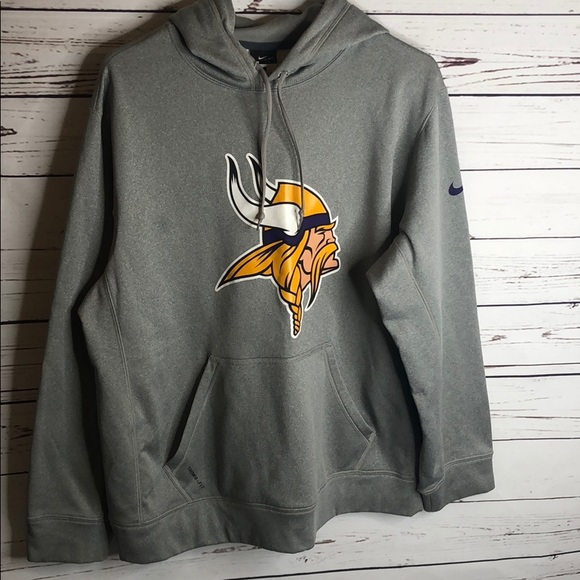promo code 28b46 9772c Women's Vikings Hoodie Nike